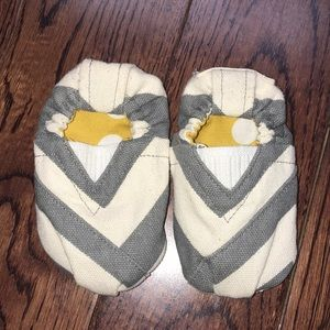 Other - Gray Chevron Baby Shoes